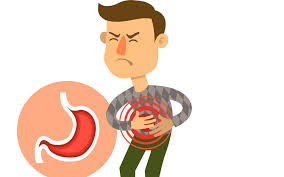 feeling caused by peptic ulcer disease