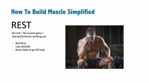 how to build muscles - sleep and rest
