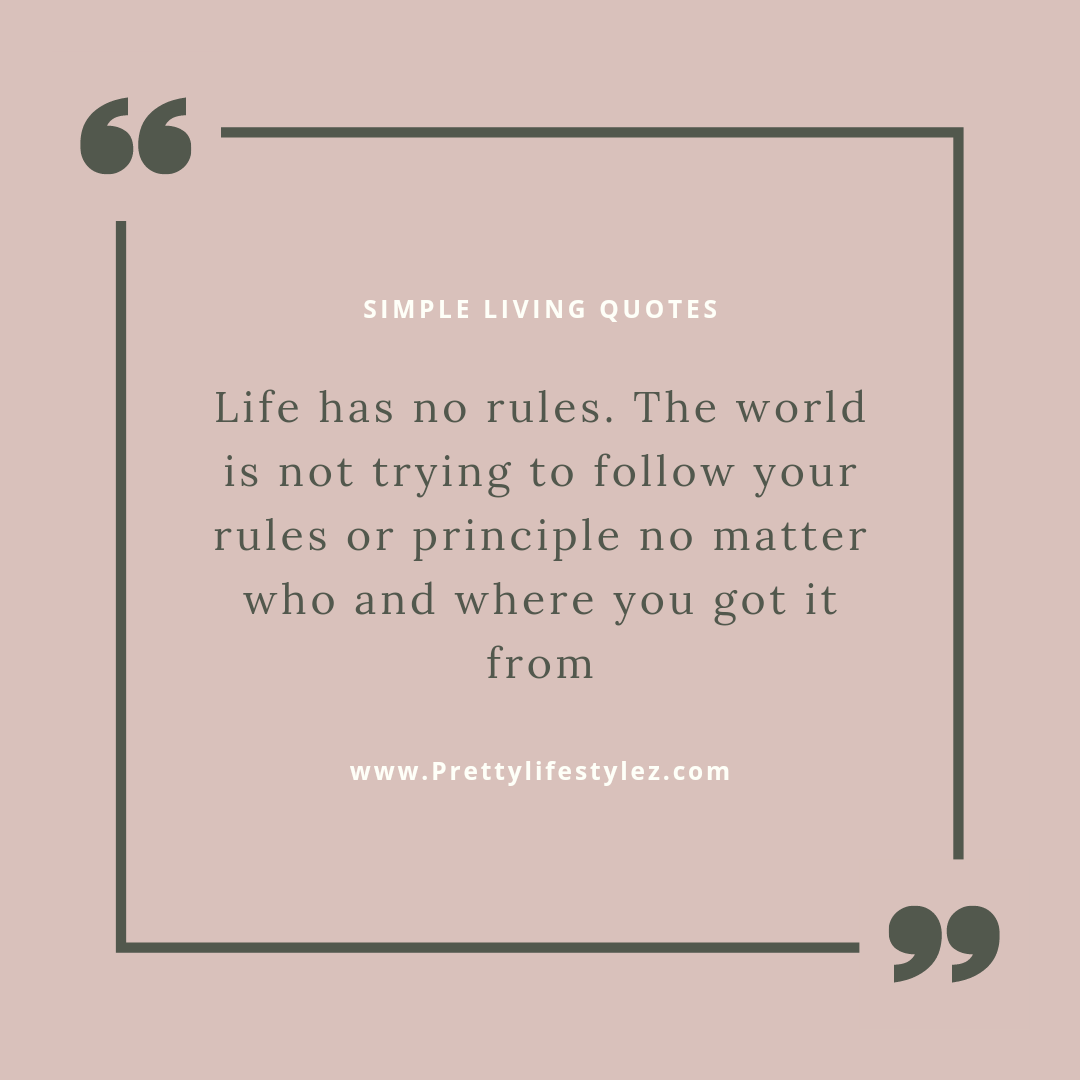 simple living quotes